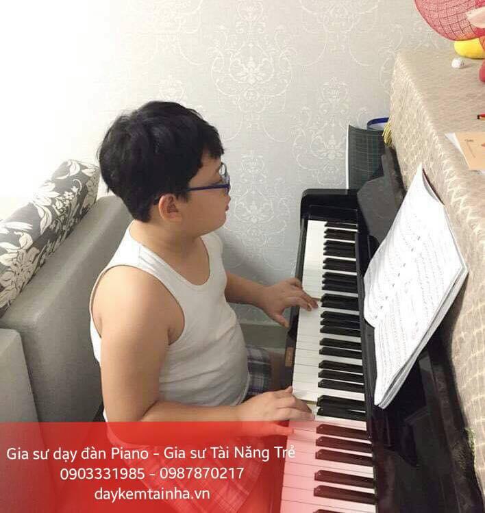 Gia sư dạy đàn Piano tại nhà ở TP HCM